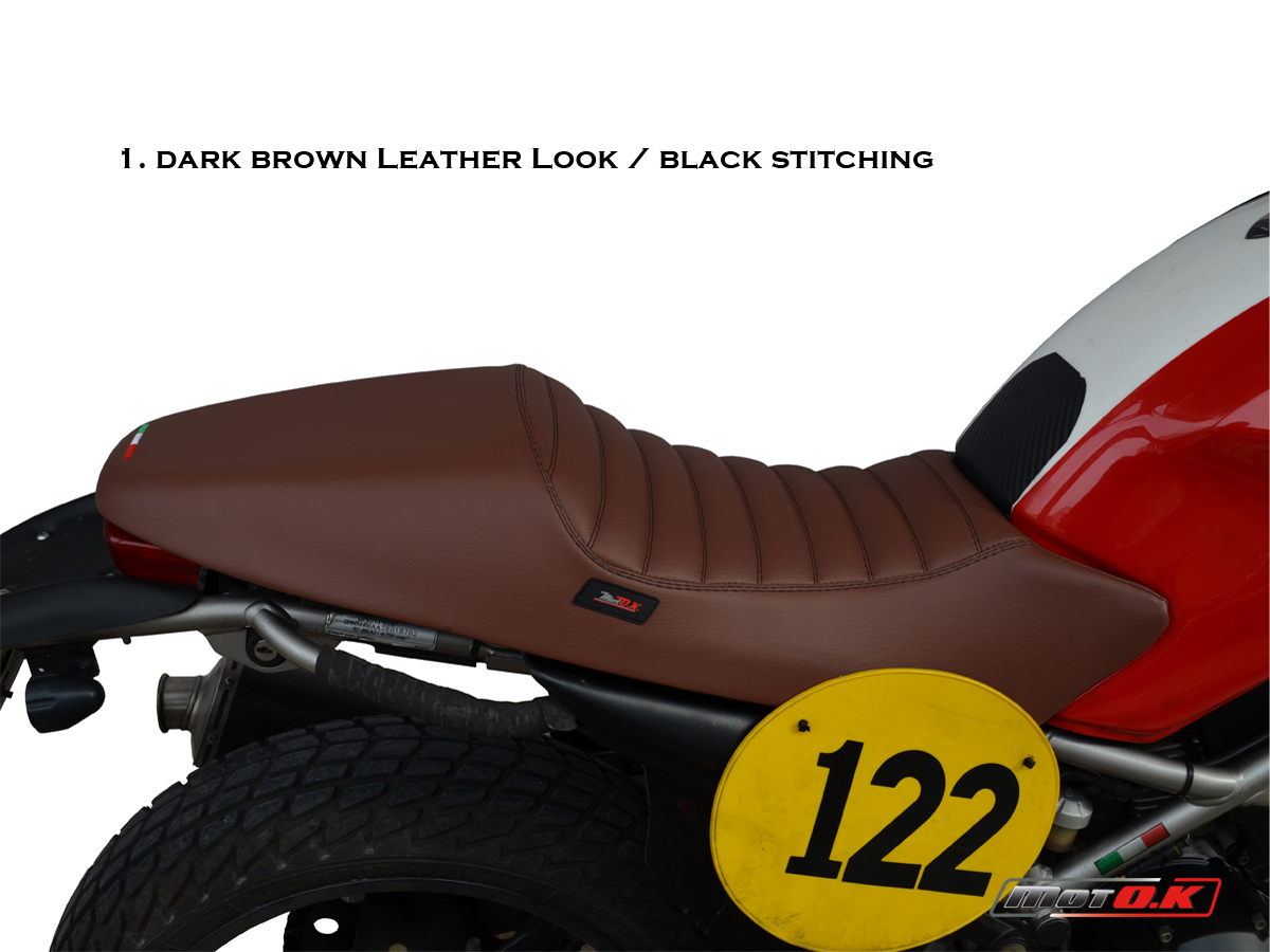 Seat cover for Ducati Monster (94-07) (café racer) by Moto ...